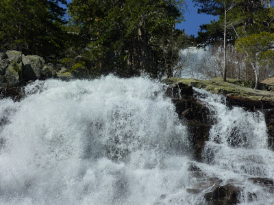 Lower Eagle Falls near Vikingsholm Castle, Lake Tohoe, California