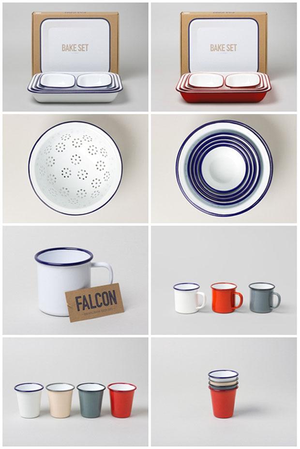 FALCON, enamelware, cacharros, esmaltados,mug,white,blue,jarra,cazo,blanco,rojo,fuente, bake, pie,azul,esmalte, durability,1920