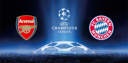 Arsenal vs Bayern munich vivo