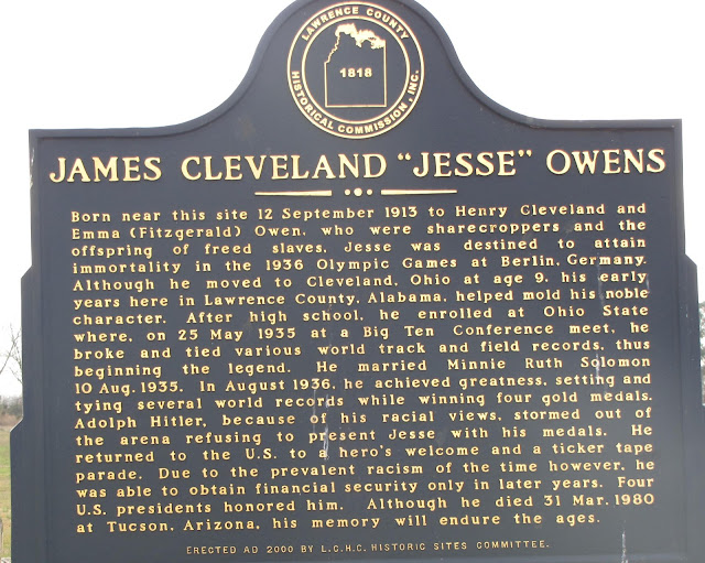 good thesis for jesse owens