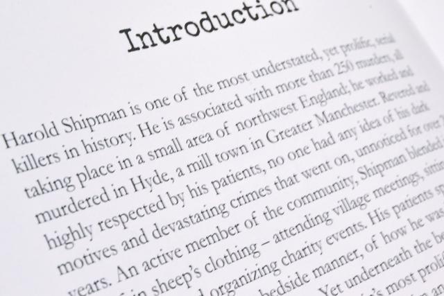 Extract of Mel Plehov's Harold Shipman book