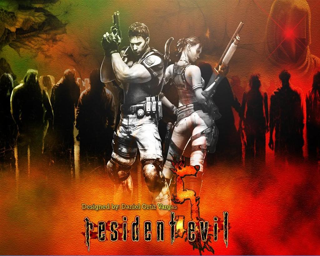 Resident Evil HD & Widescreen Wallpaper 0.060796278181066