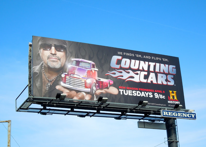 Counting Cars season 2 billboard