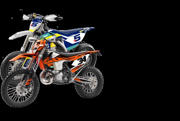 Dirtbike Template Pack[VECTOR FILE]