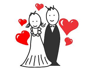 noivinhos casamento vetor corel draw