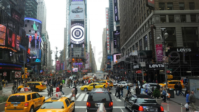 Time Square NYC HD Wallpaper