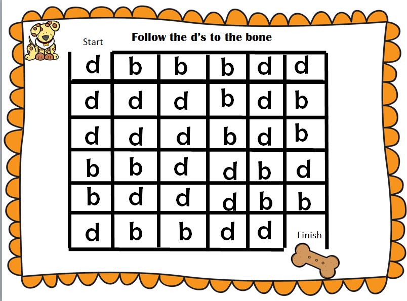 Helping Children With B And D Letter on Letter Reversals