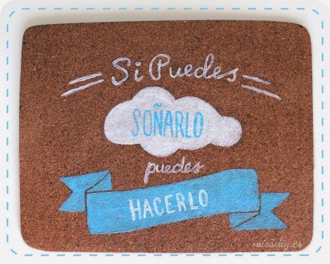 DIY, Pad Mouse con Corcho y Pintura