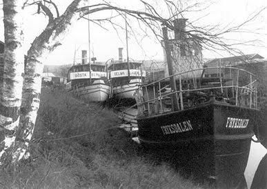 Båtarna på Fryken