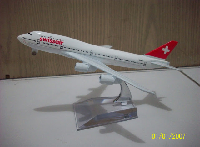 Swissair B747 400