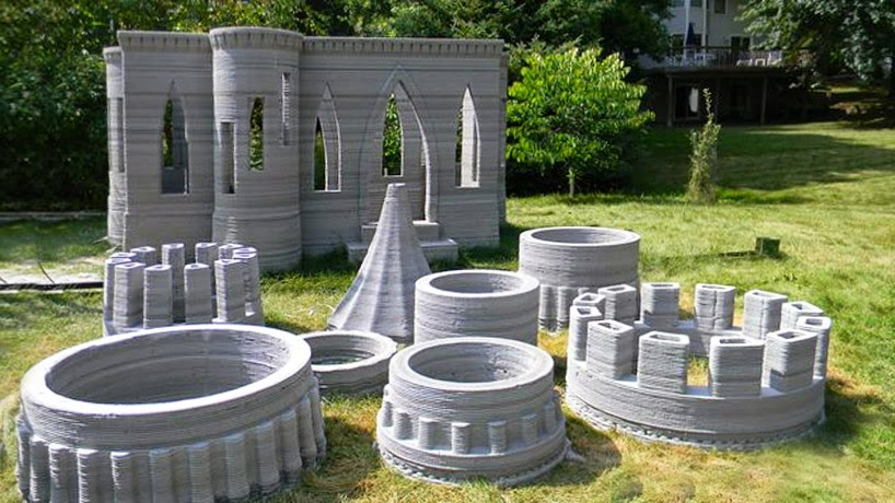 Andrey Rudenko 3d print castle kale