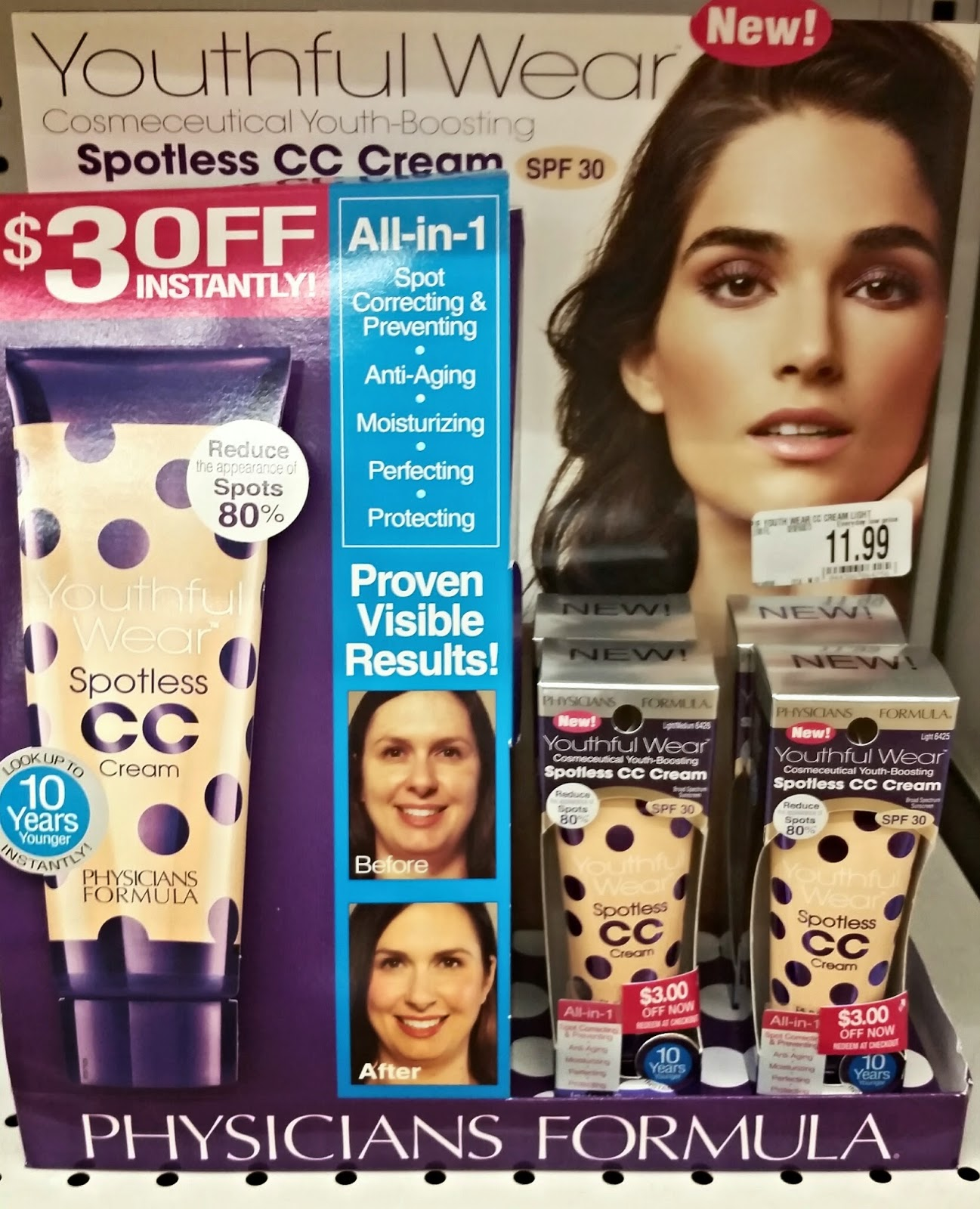 Physicians Formula Spotless CC Cream Spotted at Bed, Bath & Beyond ...