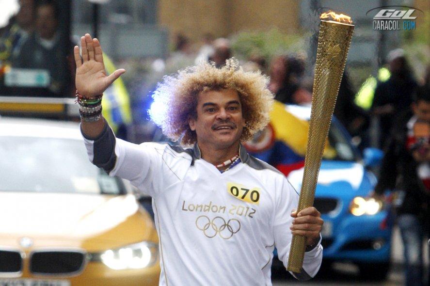 'El Pibe' Valderrama, la imagen olímpica de Colombia