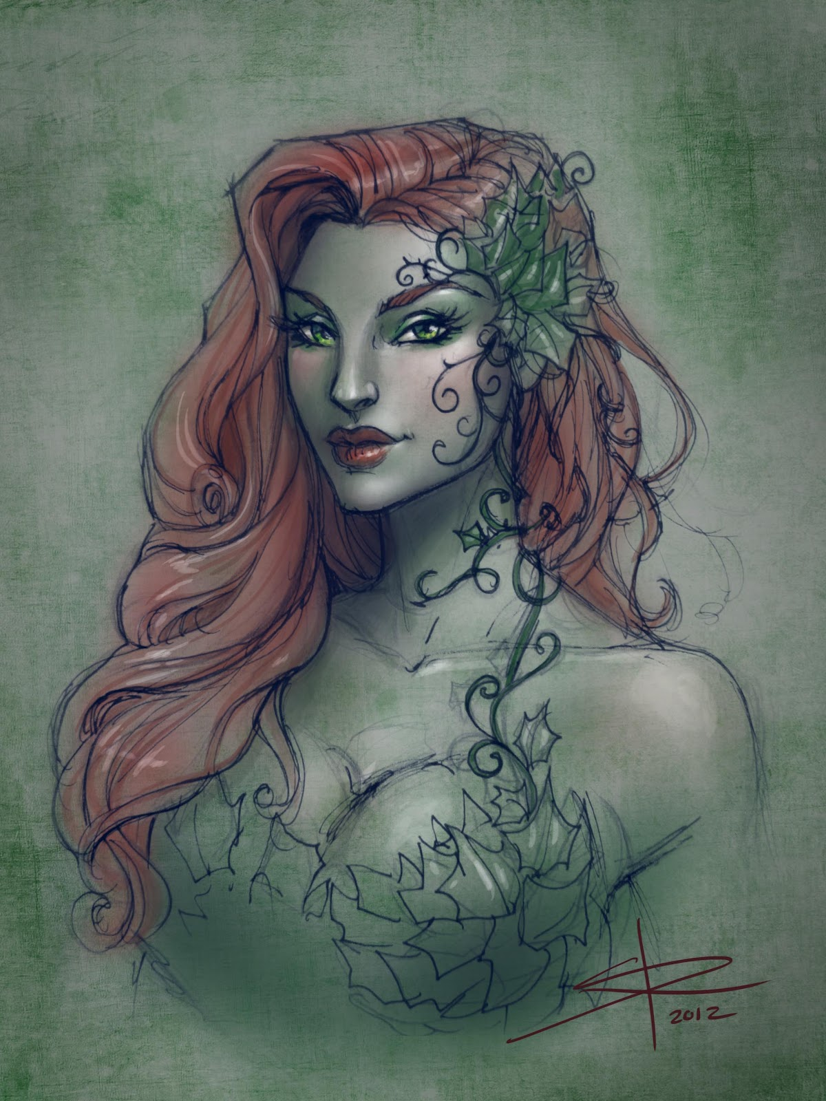 Poison Ivy.. just for fun | Sabine Rich - Sketchblog
