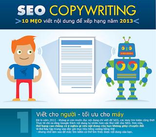10 cách viết nội dung #SEO #copywriting để cải thiện thứ hạng và hiệu quả