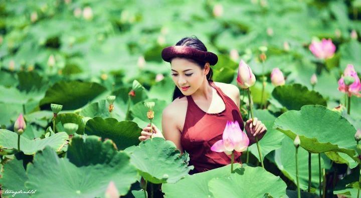 Thai nha van lo nhu hoa 050 Trọn bộ ảnh Thái Nhã Vân lộ nhũ hoa cực đẹp