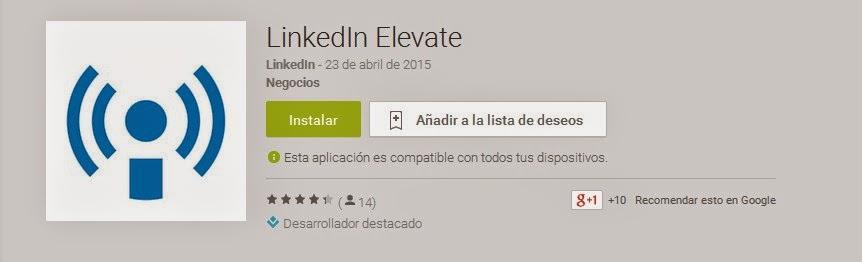 https://play.google.com/store/apps/details?hl=es&id=com.linkedin.leap