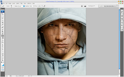 Текстура кожи в Adobe Photoshop5