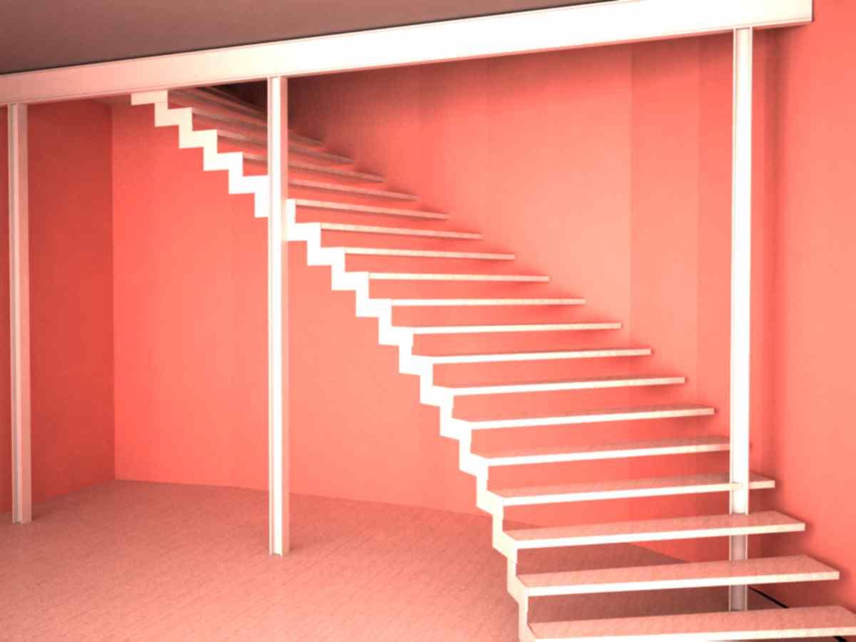 3d javier vilches escaleras metalicas de forma helicoidal for Escaleras 3d max