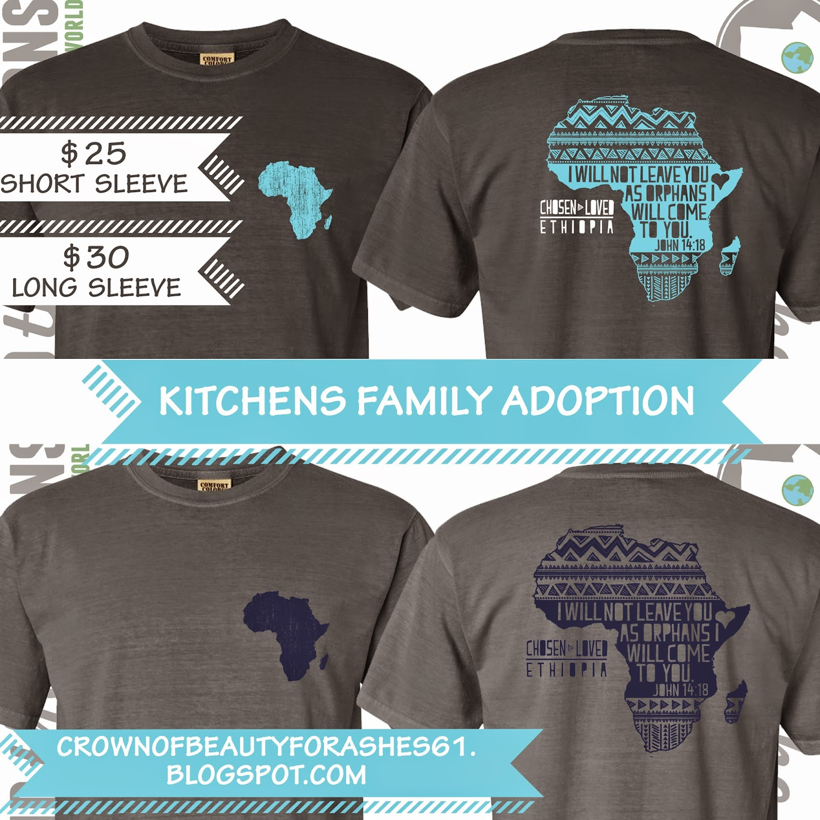 Design t shirt for fundraiser - Dark Grey T Shirt With Teal Design Or Light Grey T Shirt With Navy Design