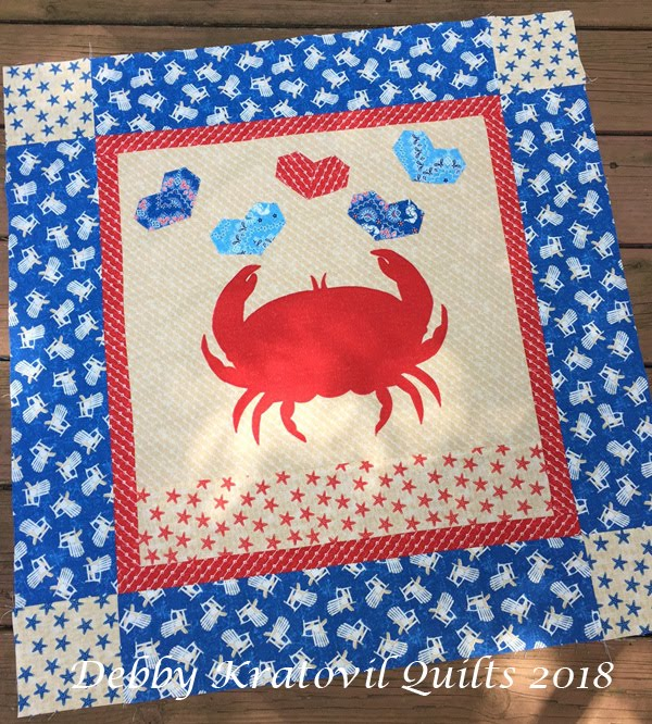 Crab Happy Quilt