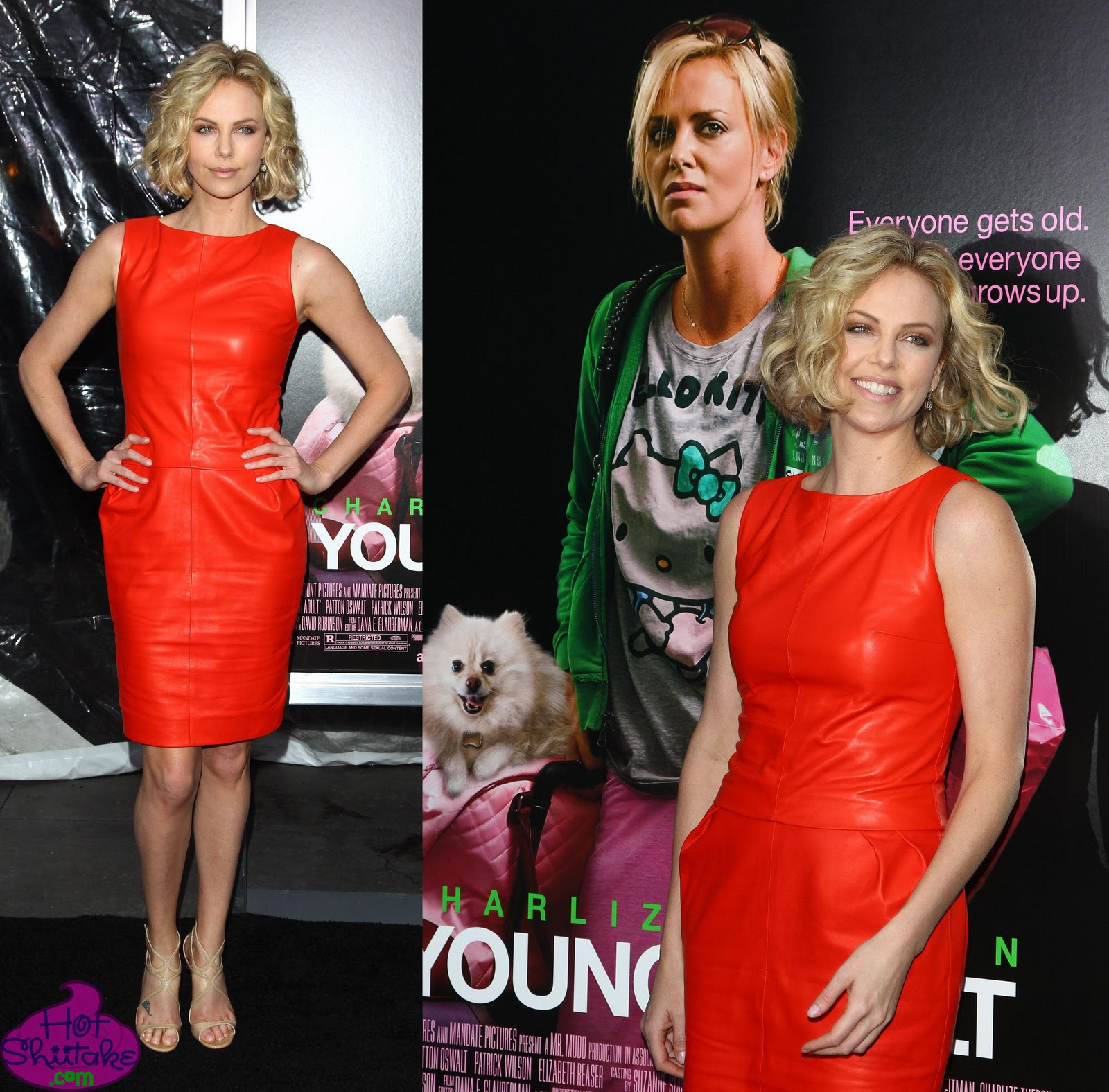 Charlize Theron Young Adult premiere