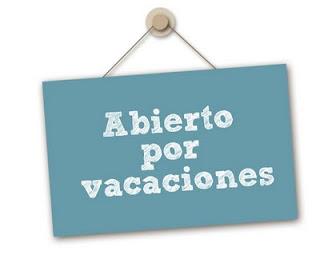 horario de vacaciones: