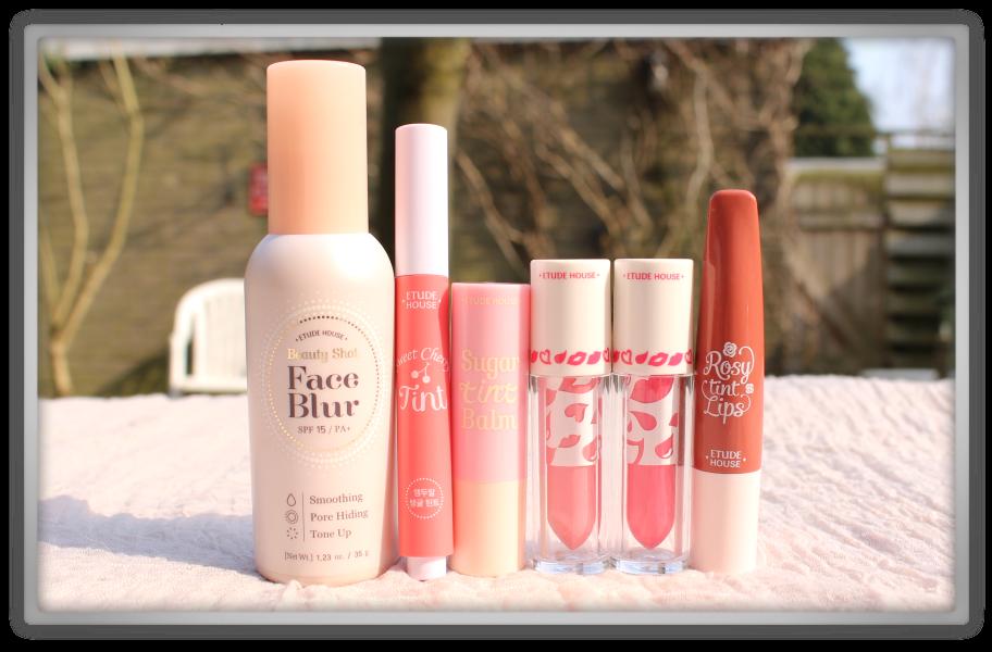 Jolse order Korean cosmetics haul review 2015 preview makeup beauty blogger Etude House face blur sugar tint balm cherry color liquid lips rosy
