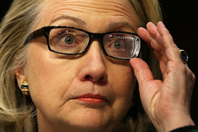 CROOKED HILLARY CLINTON, DOUBLE VISIONED?