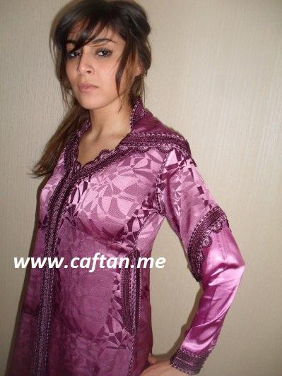 jalaba violet : 200 209   Caftan Elegance 2020