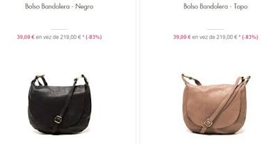 Dos modelos de bandoleras por menos de 40 euros