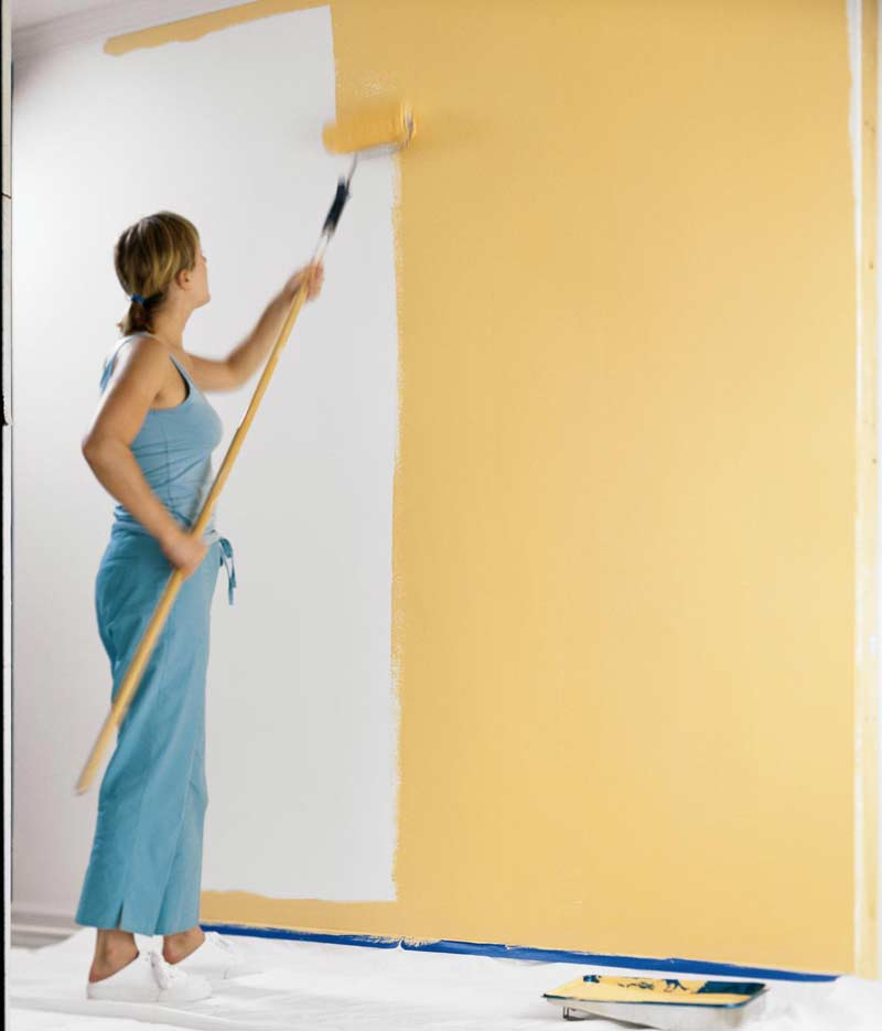 Decora tu hogar pintar techos y paredes - Como pintar el techo ...