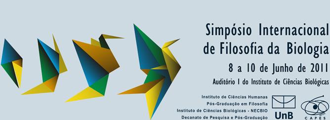 SIMPÓSIO INTERNACIONAL DE FILOSOFIA DA BIOLOGIA