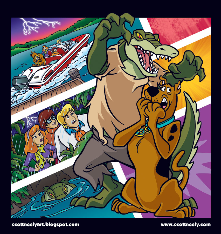 SCOOBY DOO Comic Chapter Books Cover Art