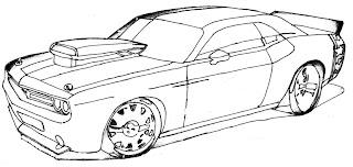 a desenhar os Carros antigos  colorir