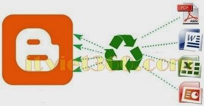 Cách nhúng File PDF, DOC, XLS, PPT vào trong bài viết Blogger