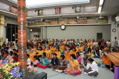 Thanksgiving retreat with Siddheshvari Devi at Radha Madhav Dham 18