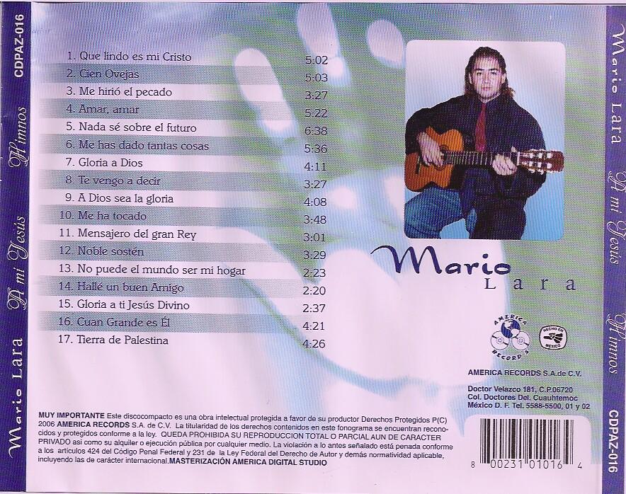Mario Lara-Himnos a Mi Jesús-
