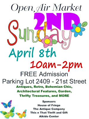 2nd Sunday April's Open Air Market