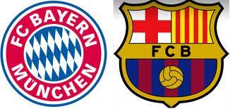 تردد القنوات الناقلة لمباراة برشلونة وبايرن ميونخ Barcelona vs Bayern Munich