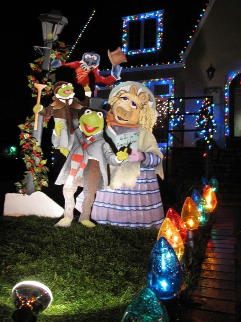Peacock Lane Muppet Christmas Carol