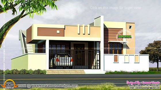 Small Tamilnadu style house