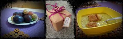 Październik, podsumowanie, zupa krem z cukini, pakowanie prezentów, jesień