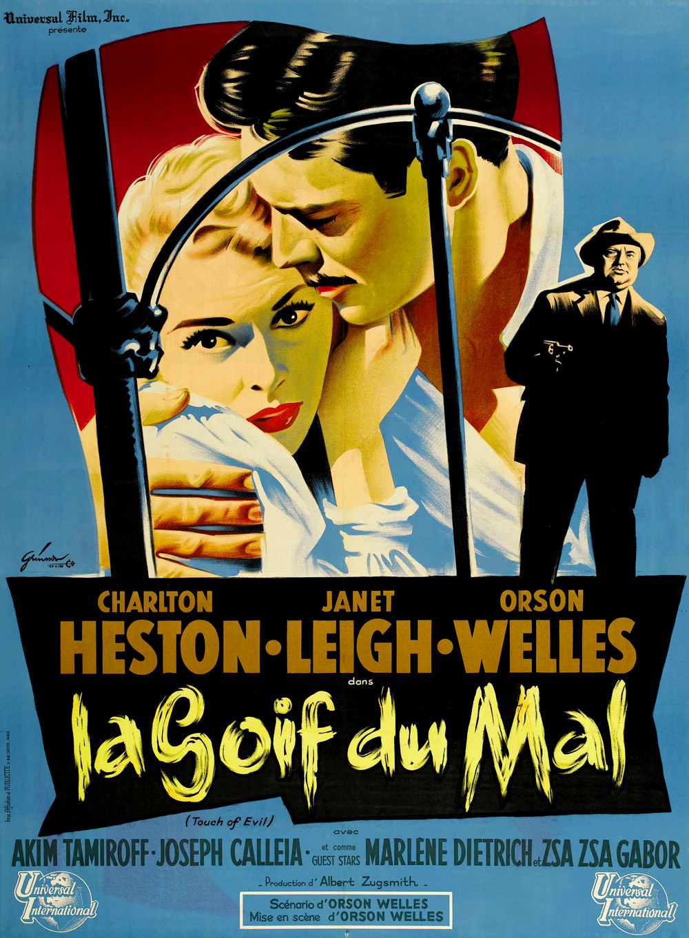 Touch Of Evil Poster Touch of evil