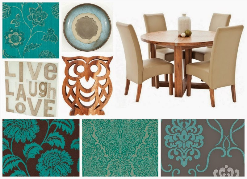 Yorkshire Blog, Mummy Blogging, Parent Blog, Dining Room, Turquoise, Decorating, Style, Redecorate, Modern, Dining Table,