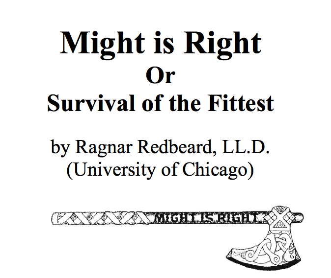 Pdf right might is