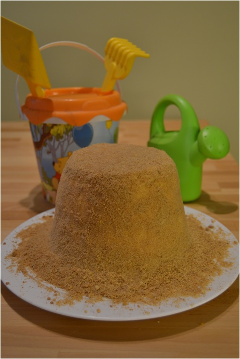 Sweet Dreams and Sweet Living: Sand cake