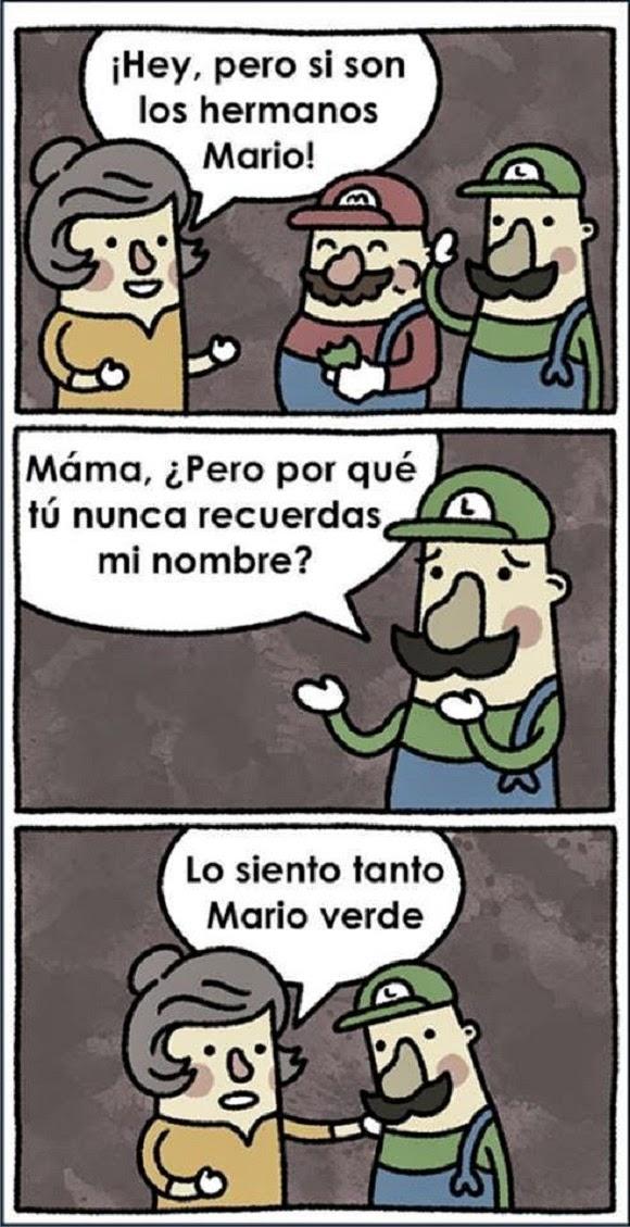 Pobrecito Mario verde