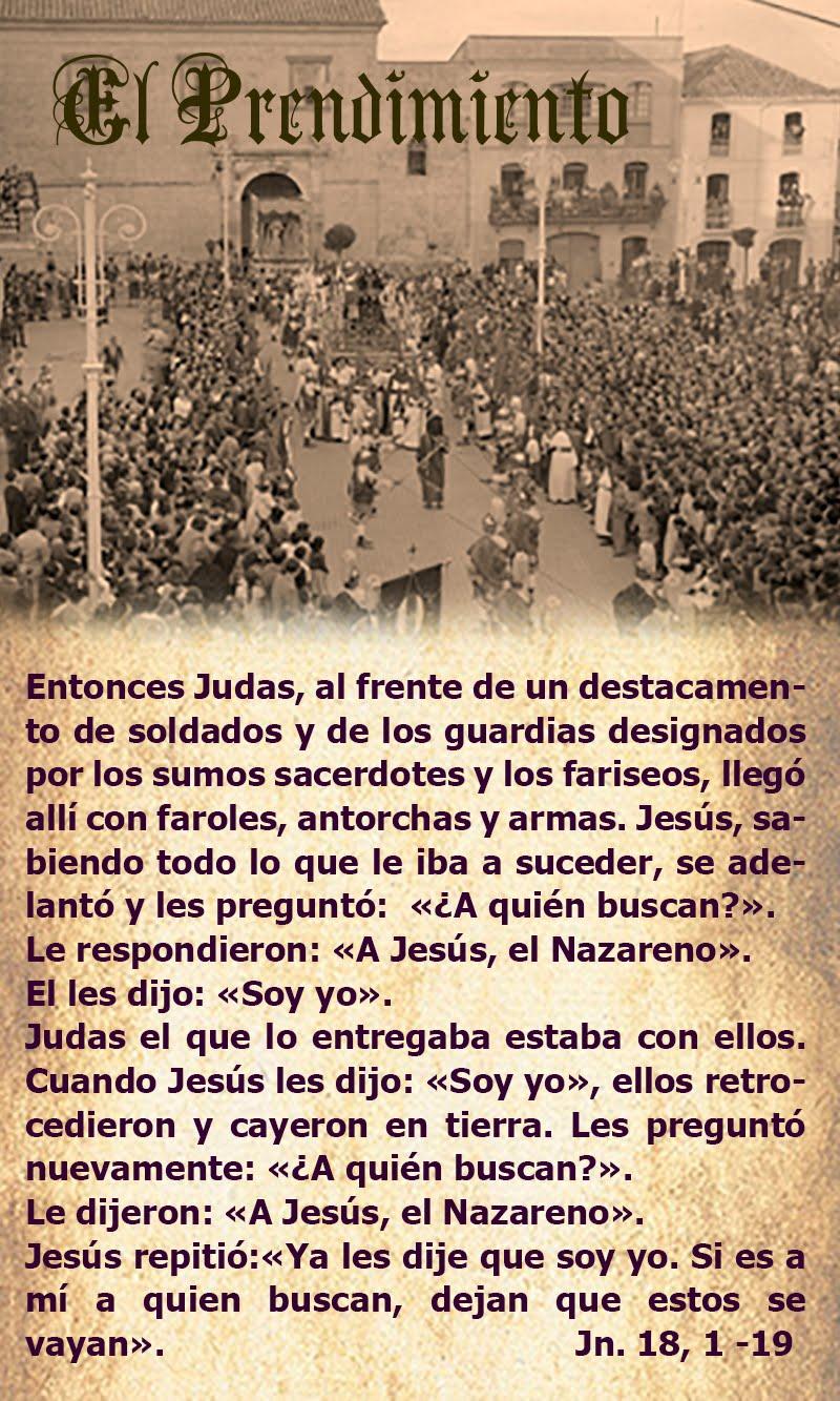 El Prendimiento según San Juan