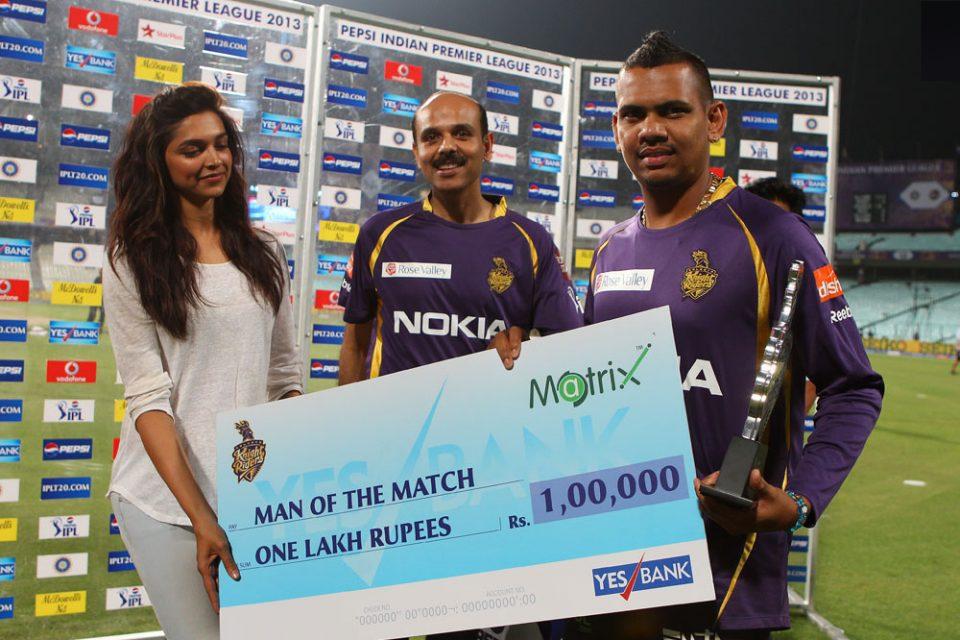 Sunil-Narine-Man-of-the-Match-KKR-vs-DD-IPL-2013